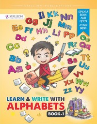 Learn & Write with Alphabets Book 1 (Yellow) NEW