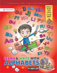 Learn & Write with Alphabets Starter (Red) NEW