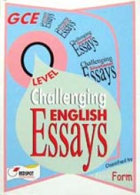 English model essays for o level