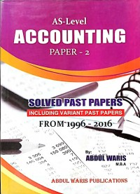 A/L Account Paper 2 Solved