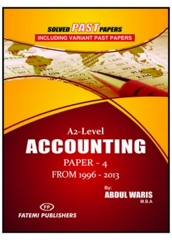 A/L Account Paper 4 Solved