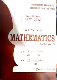 A/L Mathematics Topic by Topic