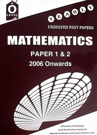 O/L Mathematics Paper 1-2 Unsolved [Nov-2018] (Without Mark Scheme)