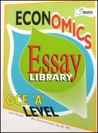 GCE A Level Economics Essay Library