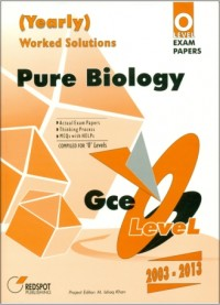 GCE O Level Pure Biology (Yearly)