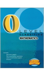 GCE O Level Classified Mathematics