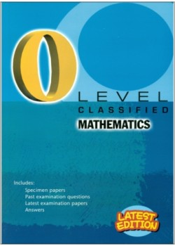 GCE O Level Classified Mathematics 2019