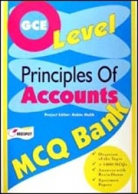 GCE O Level Principles of Accounts MCQ Bank