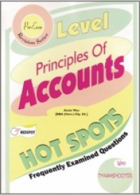 Principles Of Accounts HOT SPOTS