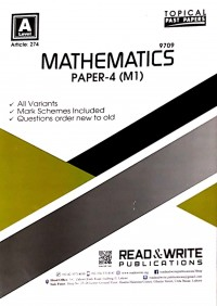 A/L  Mathematics Paper - 4 (M1) Topical Article No. 274