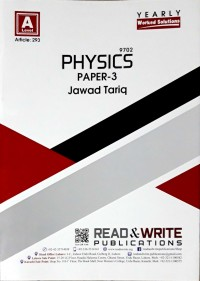 A/L  Physics Paper - 3 (Yearly) Article No. 293