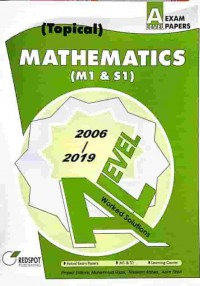 GCE A Level Mathematics M1 & S1 (Topical) 2019