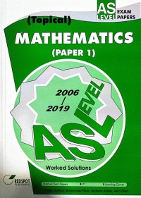 GCE A Level Mathematics P1 (Topical) 2019