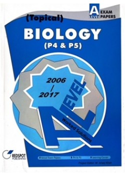 GCE A Level Biology P4 & P5 (Topical) 2018