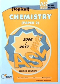 GCE A Level Chemistry P2 (Topical) 2019