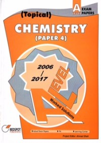 GCE A Level Chemistry P4 (Topical) 2018