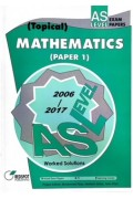 GCE A Level Mathematics P1 (Topical) 2018