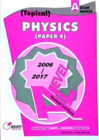 GCE A Level Physics P4 (Topical) 2019