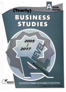 GCE A Level Business Studies (Yearly) 2018