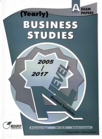GCE A Level Business Studies (Yearly) 2019