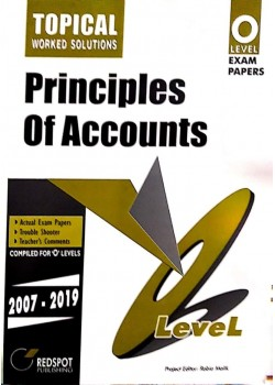GCE O Level Principles of Accounts (Topical) 2021
