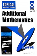 GCE O Level Additional Mathematics (Topical) 2020