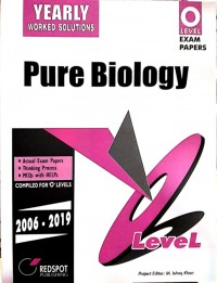 GCE O Level Pure Biology (Yearly) 2021