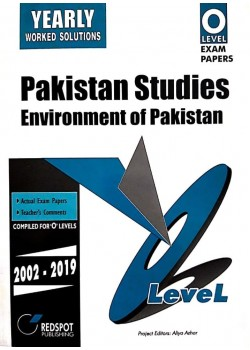 GCE O Level Pakistan Studies (Geography) 2020