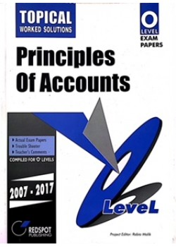 GCE O Level Principles of Accounts (Yearly) 2018