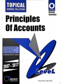GCE O Level Principles of Accounts (Topical) 2018