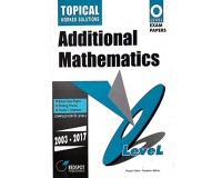 GCE O Level Additional Mathematics (Topical) 2018