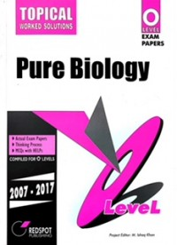 GCE O Level Pure Biology (Topical) 2018