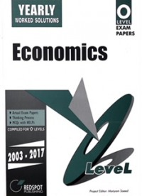 GCE O Level Economics (Yearly) 2018