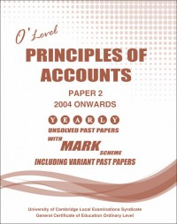 Principles of Account Paper 2 O/L [Nov-2017]