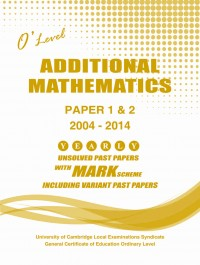 Additional Maths Paper 1 & 2  O/L [Nov-2018]