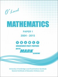 Mathematics Paper 1 O/L [June-2018]