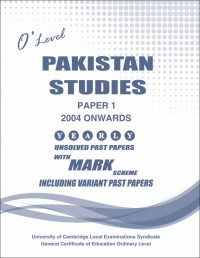 Pakistan Studies Paper 1 O/L June 2016