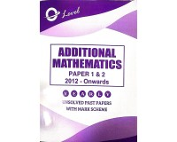 Additional Maths Paper 1 & 2  O/L [June-2020]