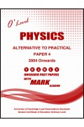 Physics Paper 4 (ATP) O/L [Nov-2018]