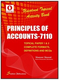 Principle of Accounts Activity Book (Unsolved Topical) Nov 2015