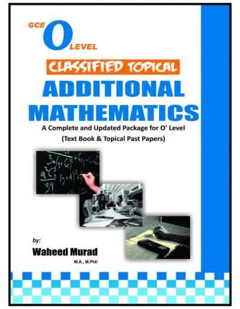 Classified Additional Mathematics