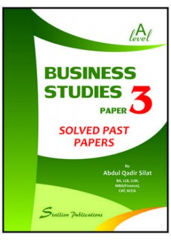 GCE A Level Business Studies – P3 Solved