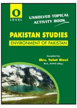 O/L Environment of Pakistan Activity Book (Unsolved Topical) Nov 2018